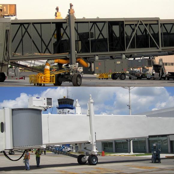 AeroWorks: Aeropasillos tipo Apron Drive