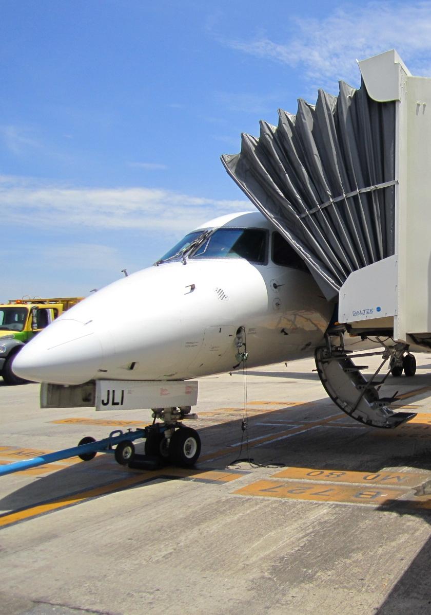 AeroWorks: Rampa regional, Aeropuerto de Villahermosa